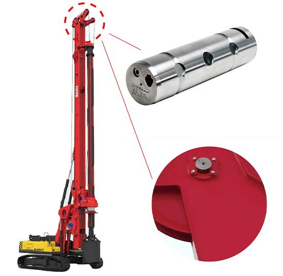Teamdrive销轴式力传感器应用三一重工旋挖钻机